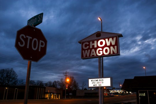 A local restaurant, The Chow Wagon, will reopen in early January after being bought by the Erdmann family, owners of another local restaurant, Lee's Famous Recipe Chicken in Milan, Tenn., on Monday, Dec. 31, 2018.