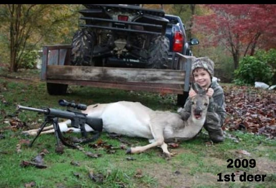 Ezell shot his first deer when he was 4 years old.