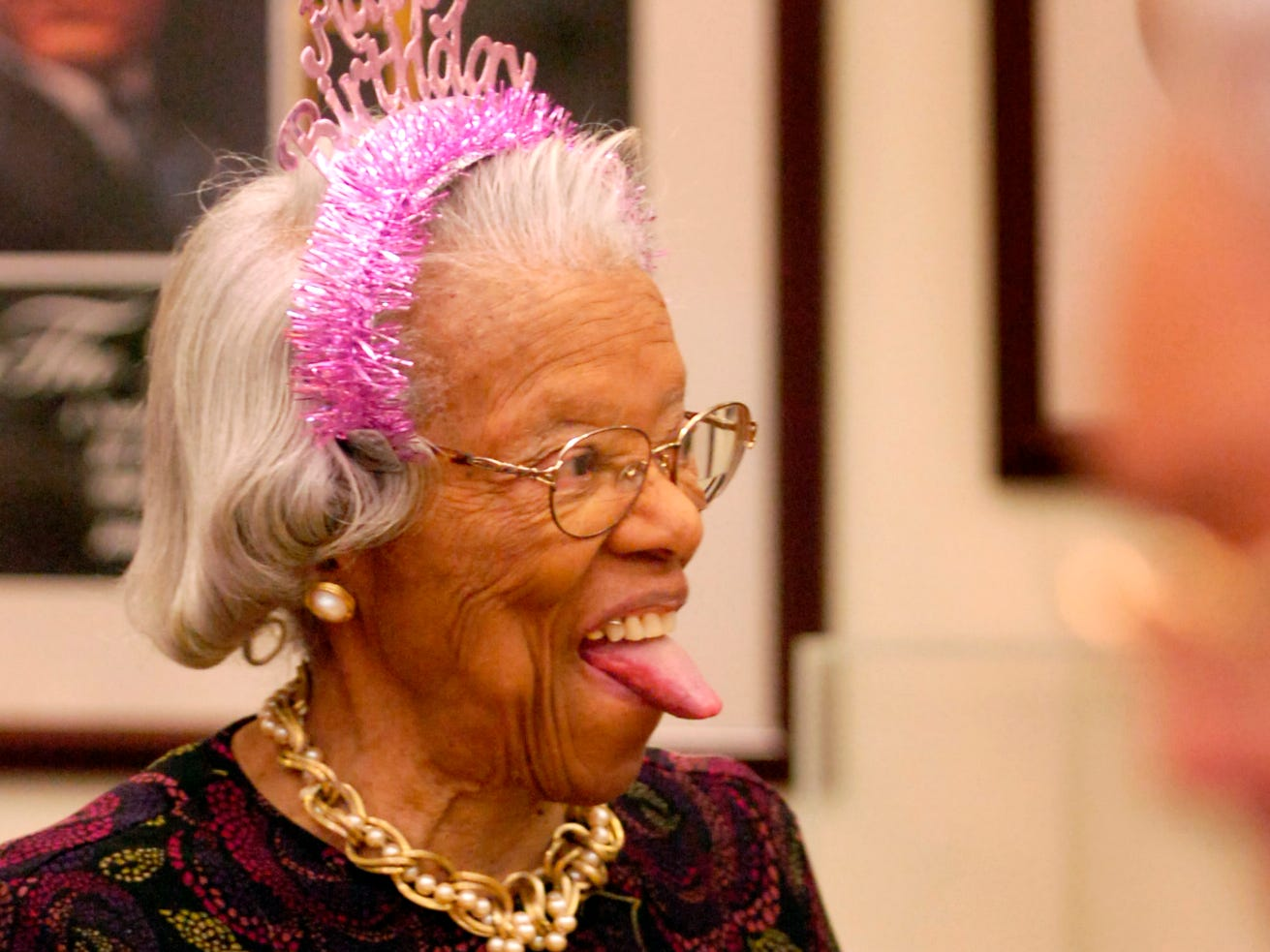 """""""I feel like I'm sixteen again,"""" said Lois Kelly then adding, """"I haven't had a birthday party since was a kid."""" Friends of Kelly held a 99th birthday party for her Friday at the Beck Cultural Exchange Center with lunch, cake and presents. Following the party they played bridge."""