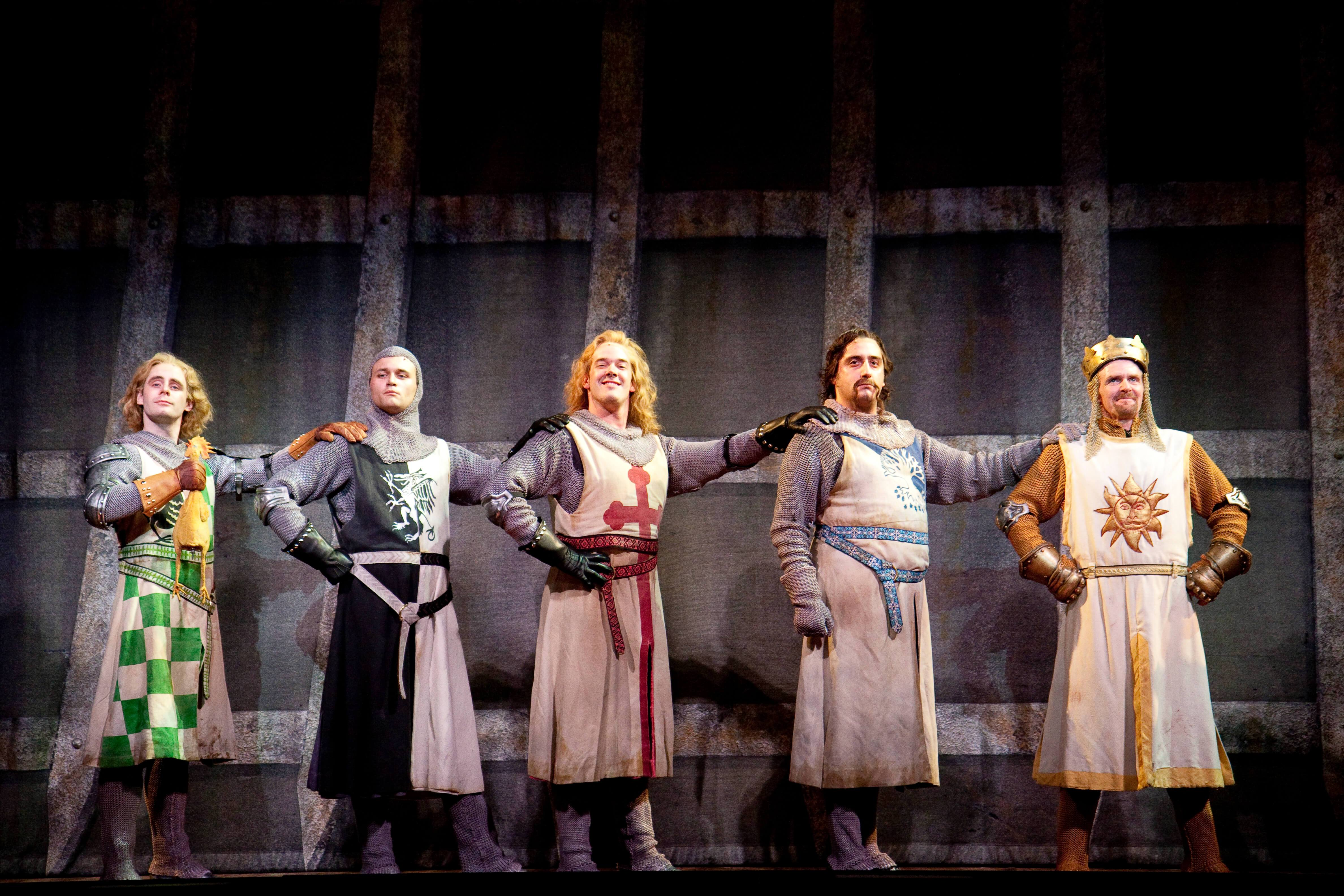 """""""Spamalot"""" includes bits from """"Monty Python and the Holy Grail."""""""