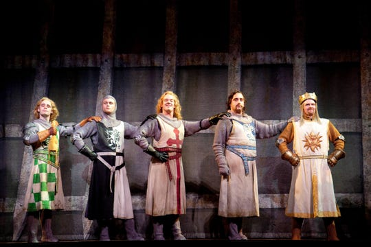 """Spamalot"" includes bits from ""Monty Python and the Holy Grail."""