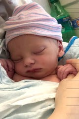 The first baby of 2019 in Lafayette, a boy, was born at 2:58 a.m. at Women's and Children's Hospital, the hospital has confirmed.