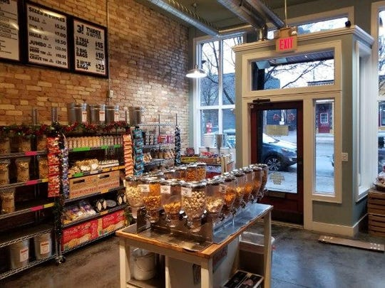 The interior of the new Cravings Gourmet Popcorn, at 1221 Turner St. in Old Town, across the street from the old location.