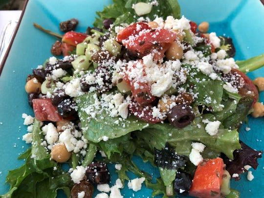 The Mediterrano salad from Mediterrano, Naples.