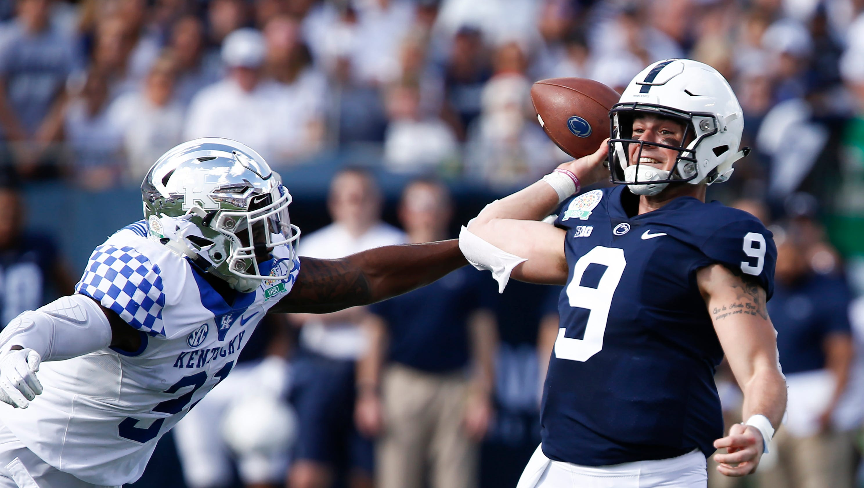 Penn State vs. Kentucky  Trace McSorley can t complete desperate rally in  Citrus Bowl 98ec5a034