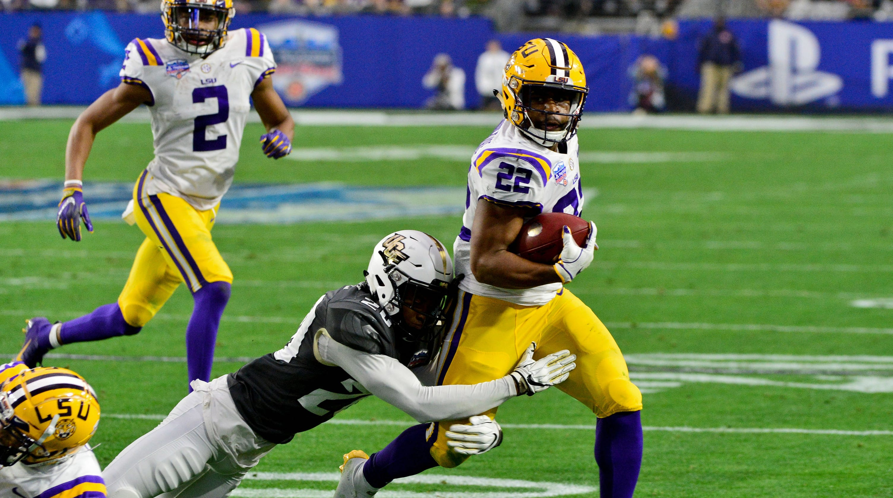 2019 Lsu Football Schedule Dates Times Tv Assignments
