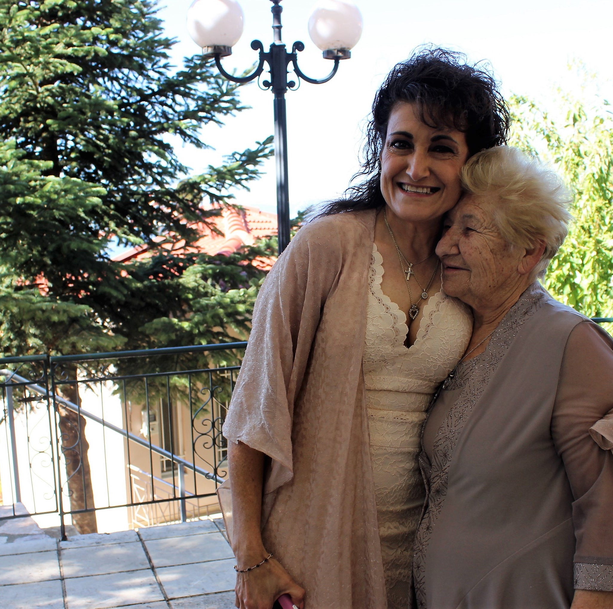 60-year-old Franklin woman finally looks for her birth family — and finds her mom in Greece