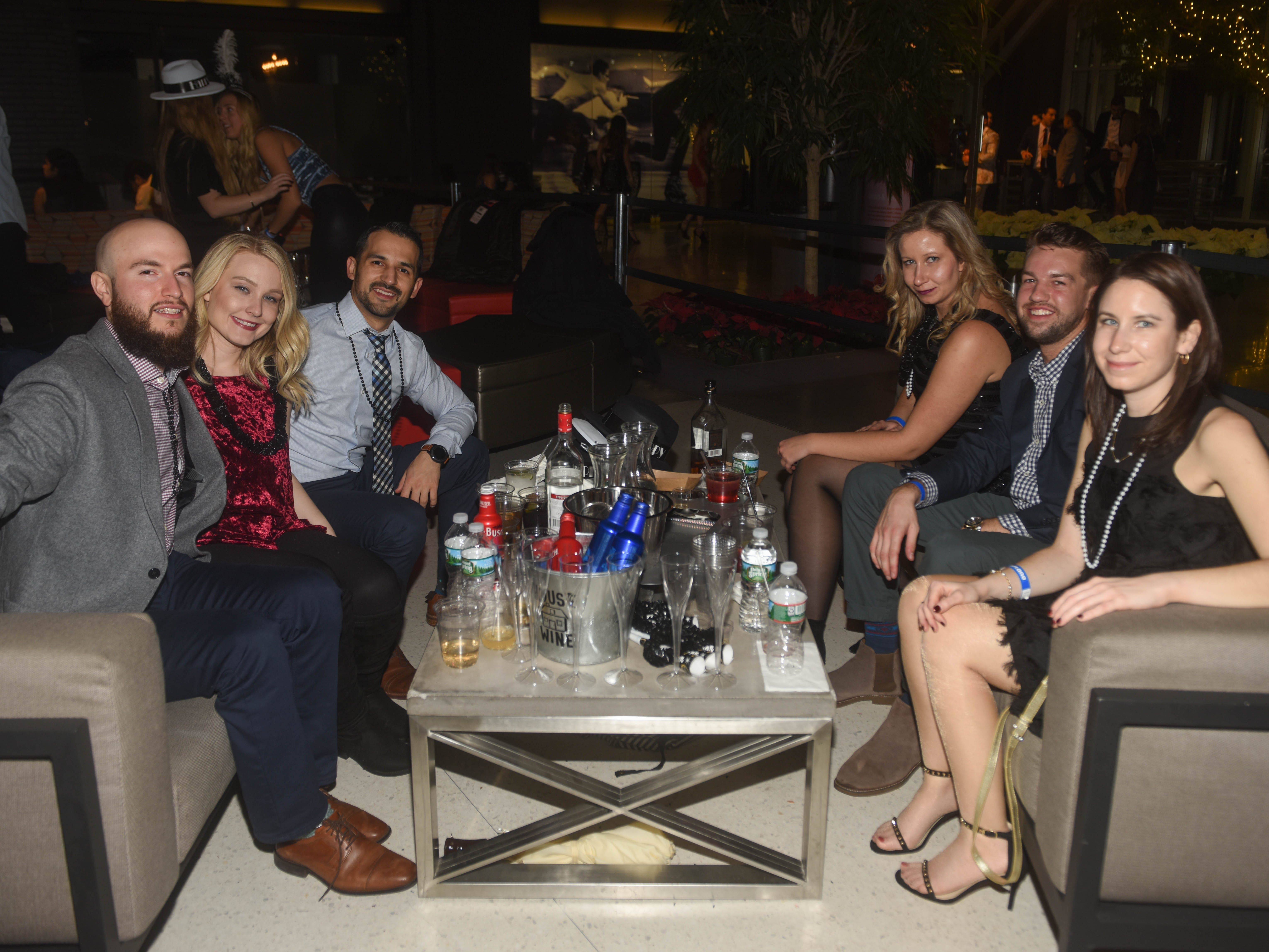 Harborside Atrium in Jersey City held their Lutze New Years Eve Bash to bring in 2019. 12/31/2018