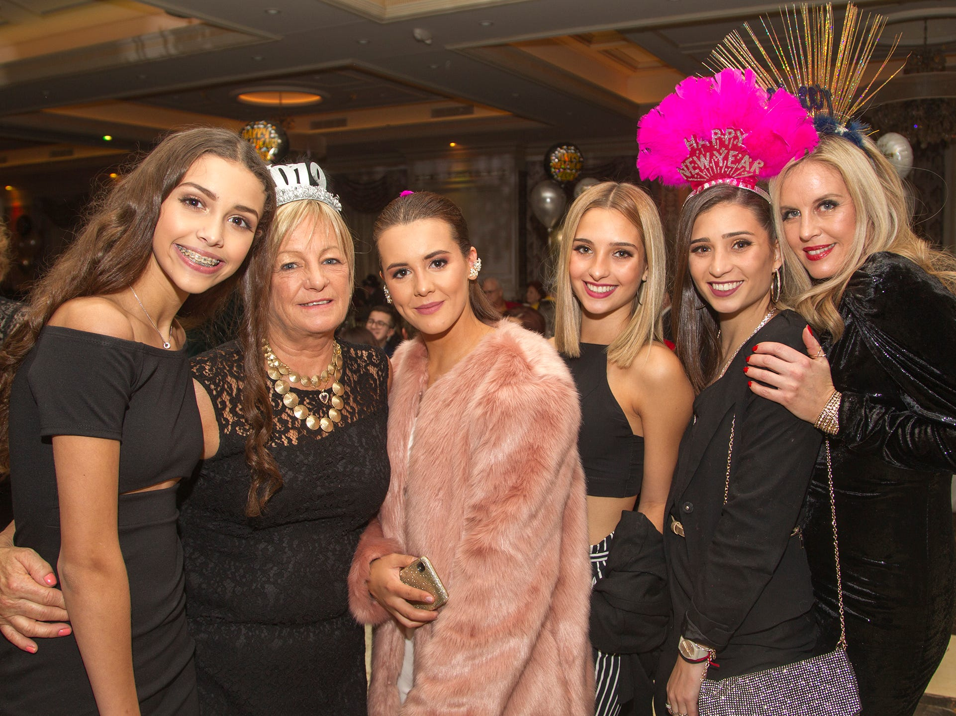 Biagio's Ristorante 2018 New Year's Eve celebration in Paramus. 12/31/2018