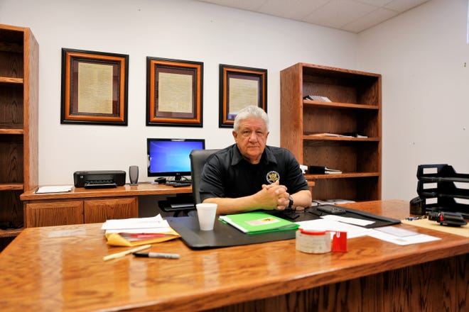 Longtime San Juan County Sheriff Ken Christesen has retired after spending his entire law enforcement career with the agency.