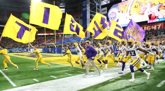 Lsu Tigers Vs Ucf Knights