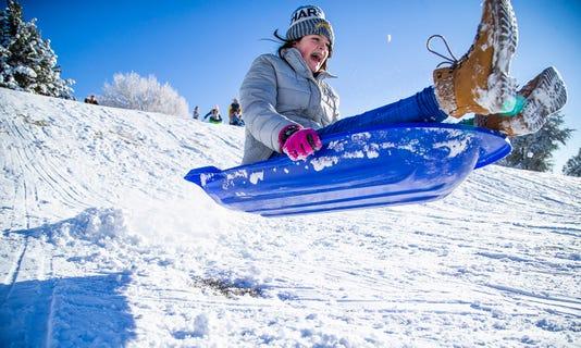 Fun In New Year Snow