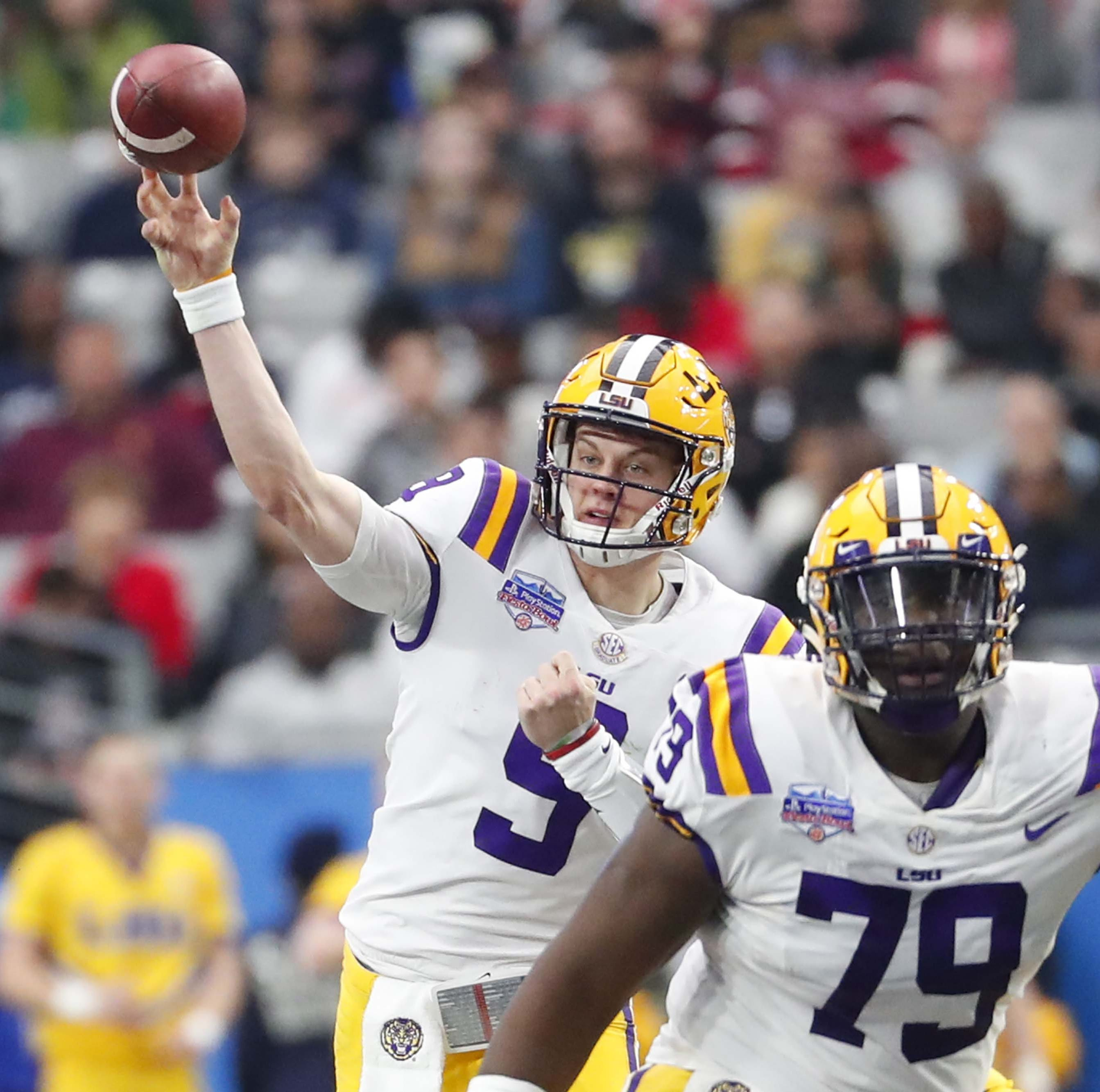 One thing is certain as LSU ends spring drills with spring game: It is Joe Burrow's team