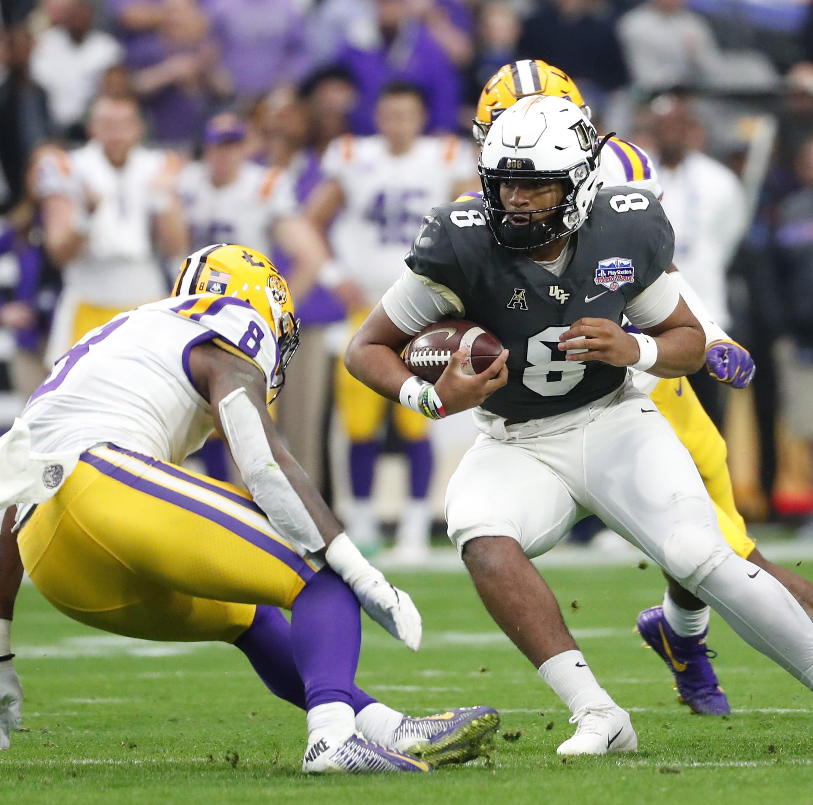 UCF fails to take advantage of LSU's depleted defensive personnel