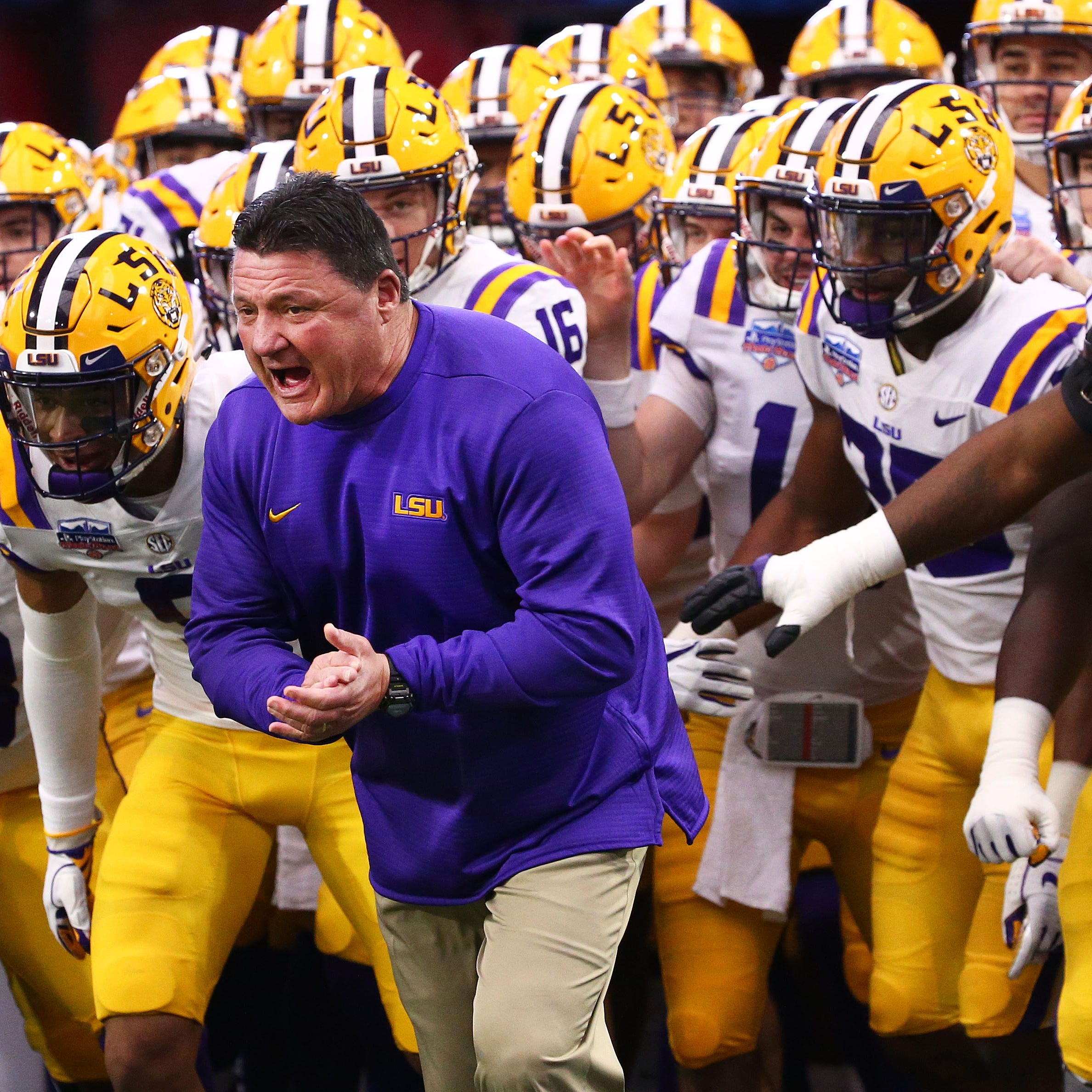 Won't get to see it — again — but LSU's offense supposedly blossoming in spring