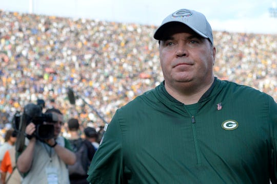 Former Green Bay Packers head coach Mike McCarthy was one of the reported names on the Arizona Cardinals' early contact list to replace fired head coach Steve Wilks.