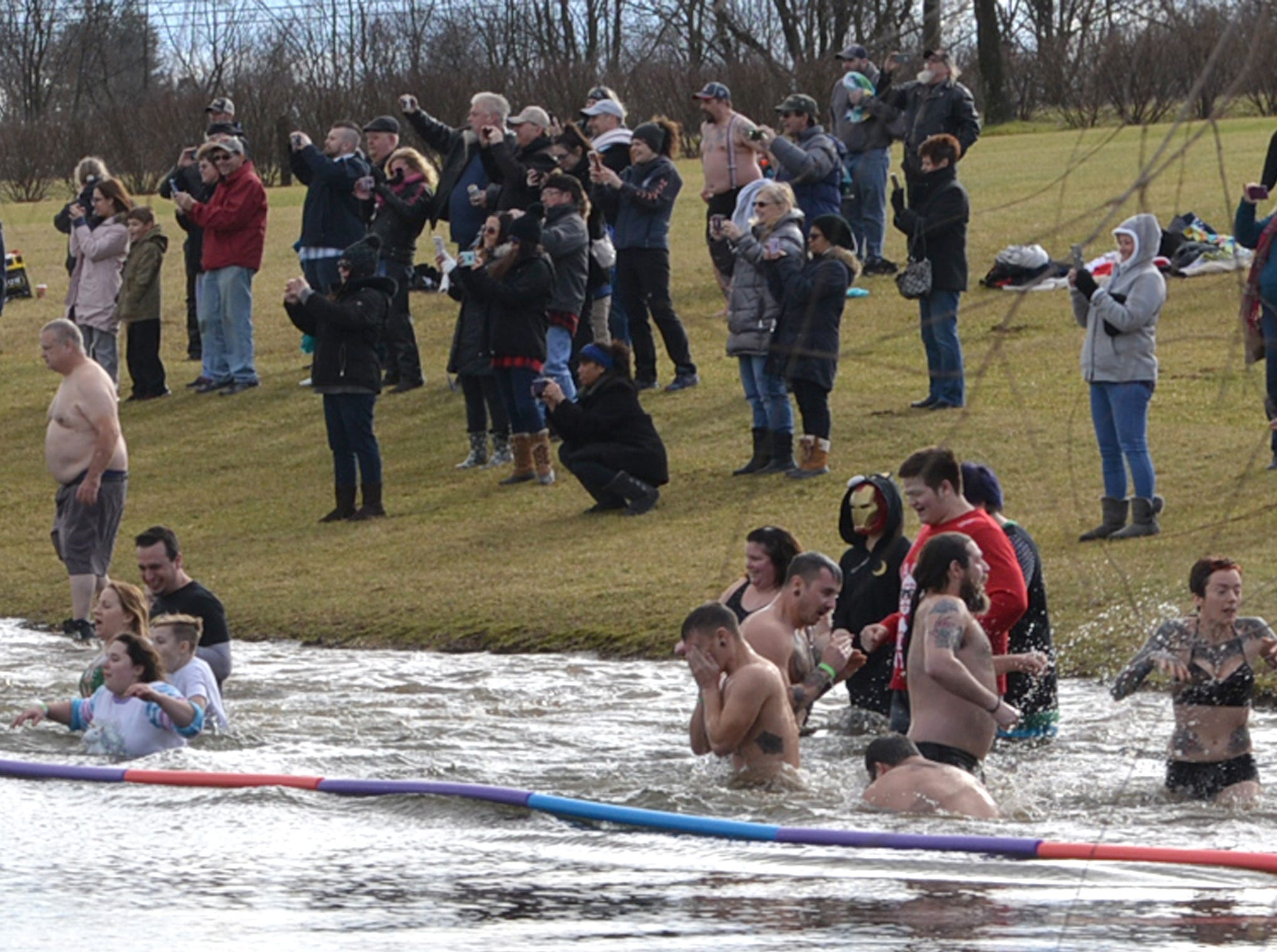 The 29th Annual Polar Bear Club Plunge, a benefit event for Developmental & Disability Services of Lebanon Valley, was held on January 1, 2019 at Wind in the Willows in Grantville, PA.