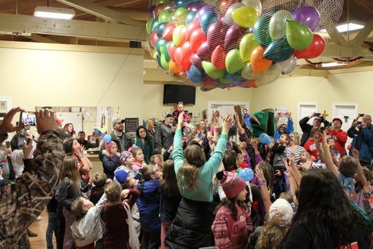 "A ""Minnow Drop"" was held at 6 p.m. for youngsters to celebrate the New Year before bedtime."