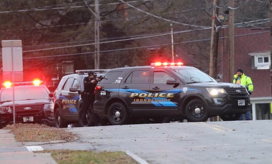 Police in Irondequoit, Jan. 1, 2019.