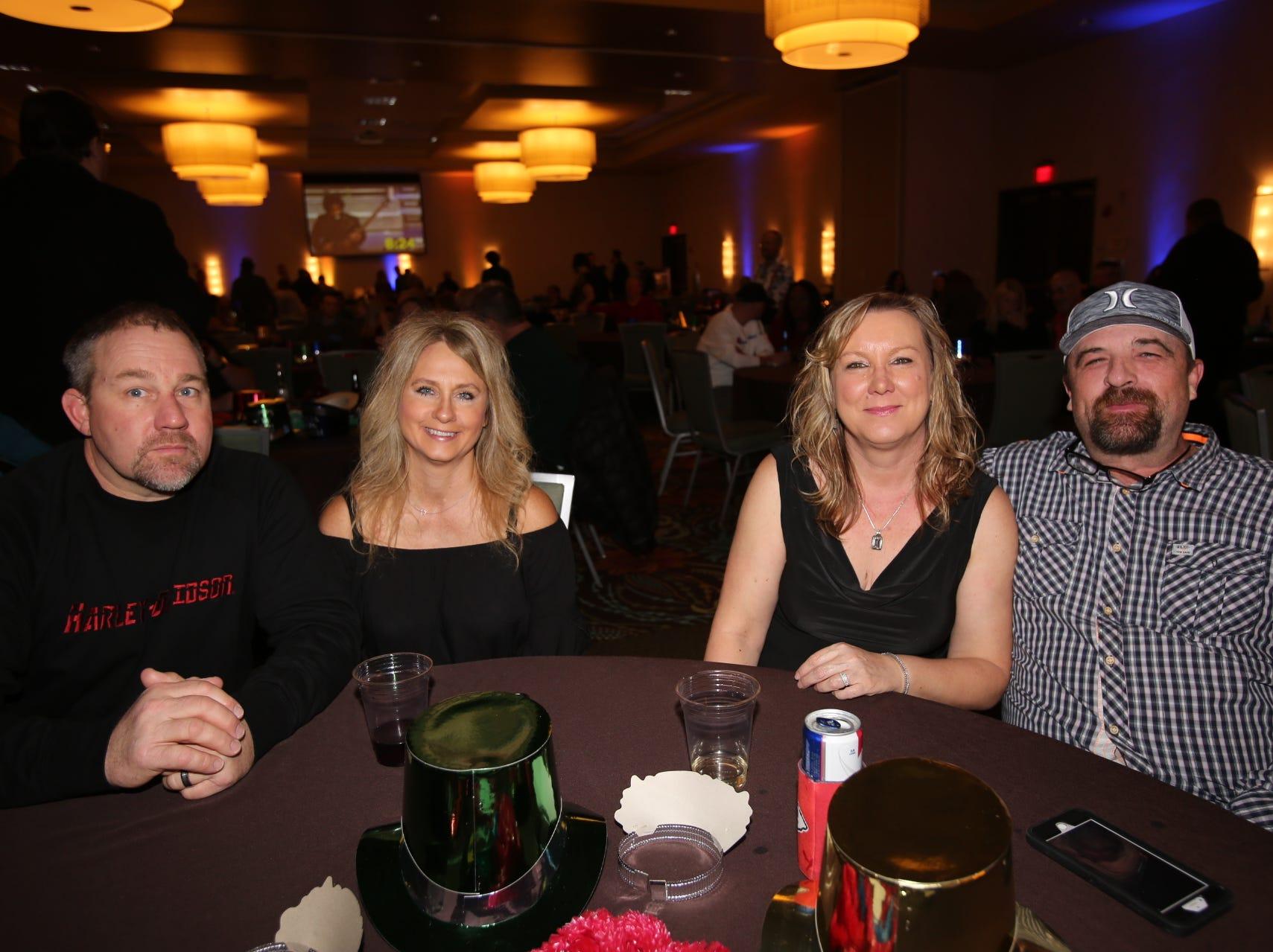 Tod, Sherri, Karin, and Keith