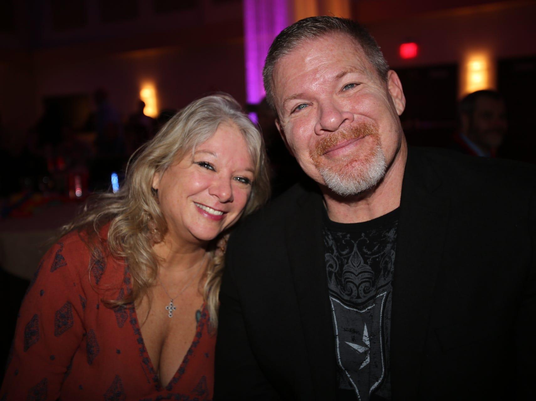 Cindy Barrett and Steve Grumbine