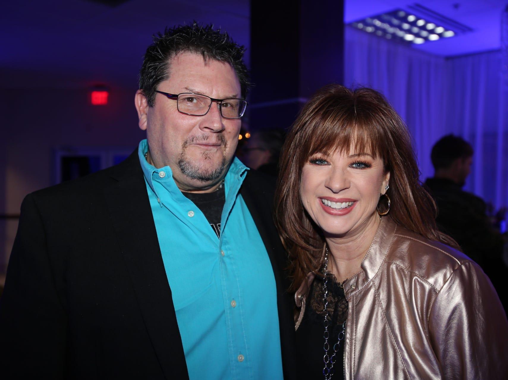 Kenny Martin and Lina Robertson