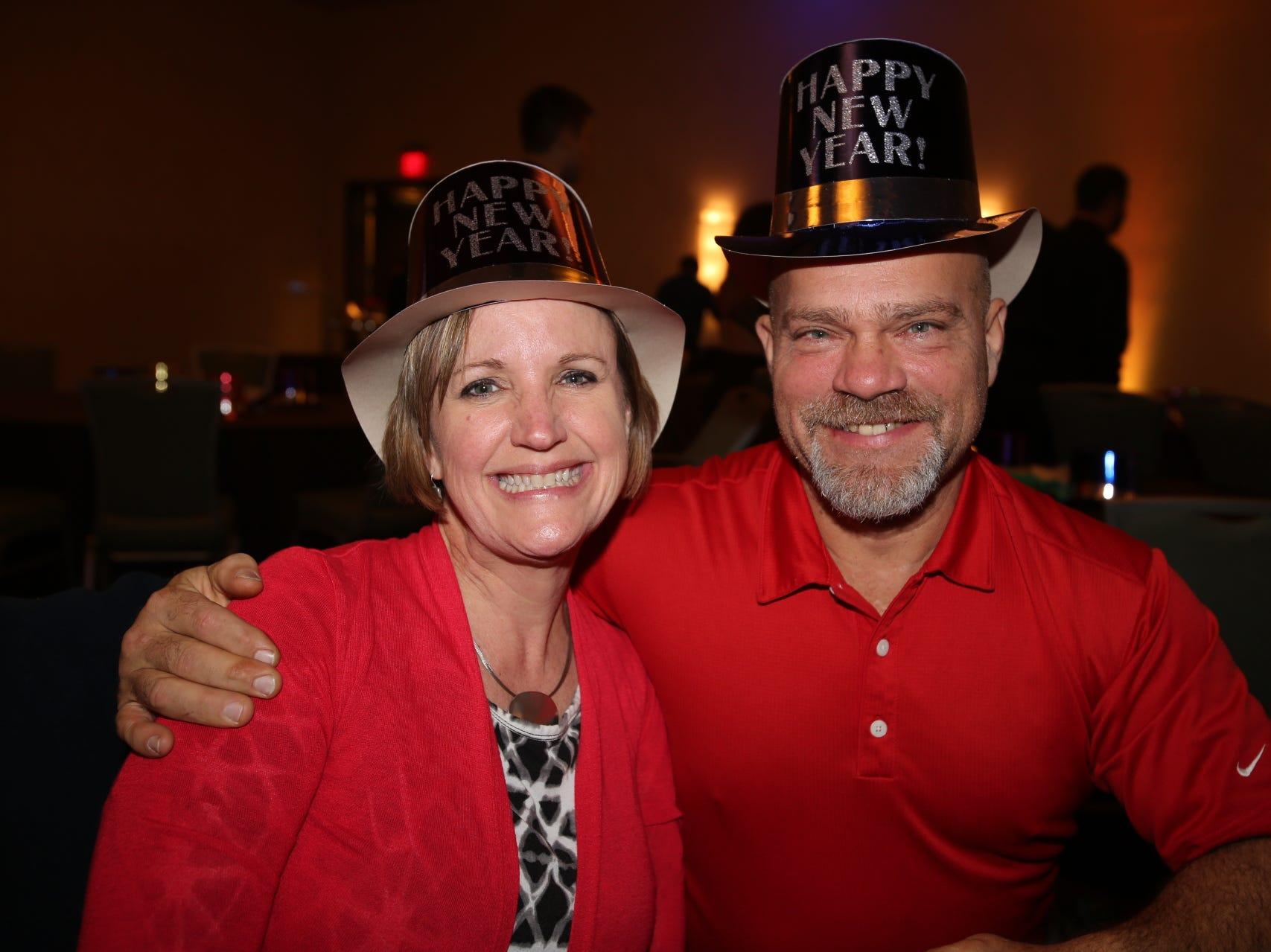 Melia and Bob Franklin