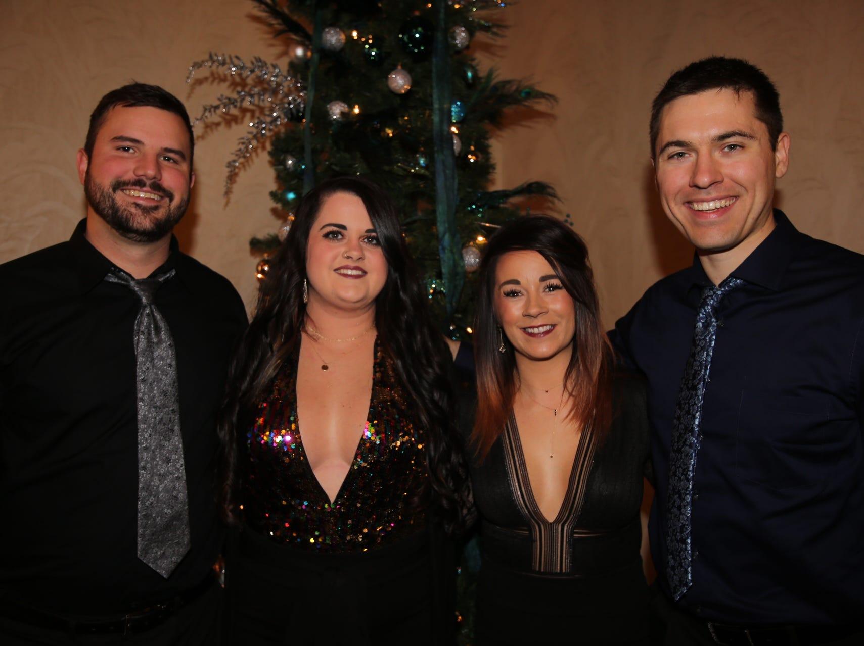 Derek and Reba Koehn, Jessica Ryun, and Justin Schmelzer