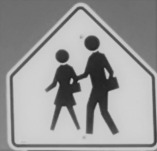 Pedestrian Sign