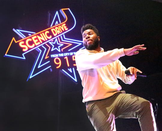 El Paso's Khalid dazzled a standing-room-only crowd with his lyrics, moves and stage show in the Don Haskins Center in 2018. The arena echoed with the many voices singing along to his songs.