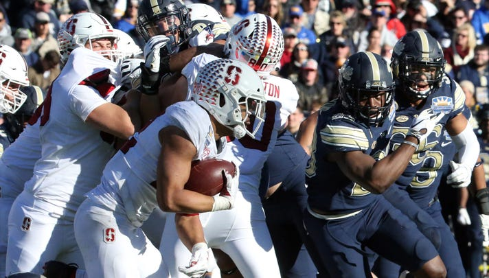 Sun Bowl final score, 14-13: Stanford's fortunate fumble puts them over Pitt