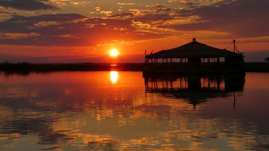 Shutterbugs Steve Goldburgs Sunset Over The Chobe River