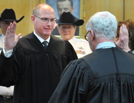 Wichita County 2019 Oath Of Office 12