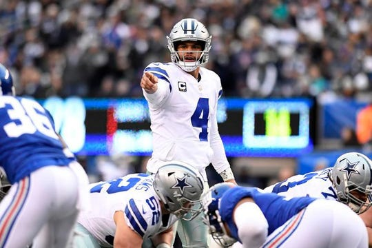 Dak Prescott was thrown into the fire immediately but has led the Dallas Cowboys to NFC East titles in two of his three seasons.