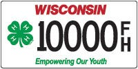 Those interested in promoting or showing their pride in 4-H can order a new license plate for their vehicle.