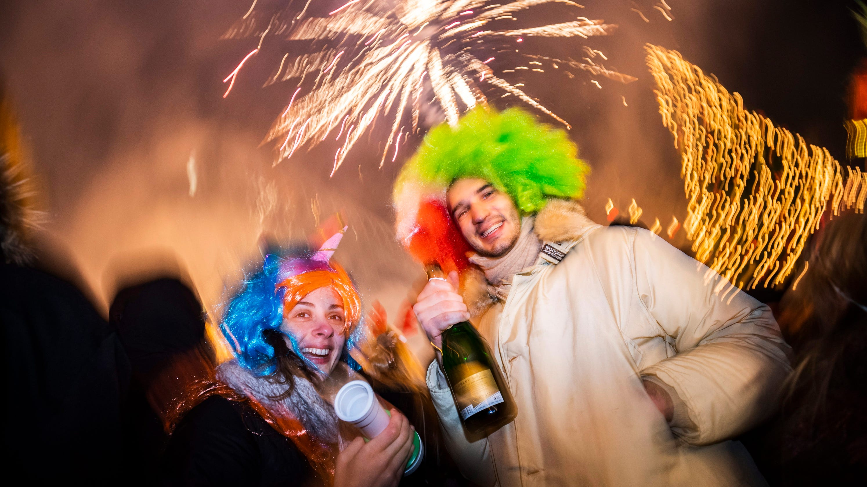 Welcome 2019: New Year's Eve celebrations around the world