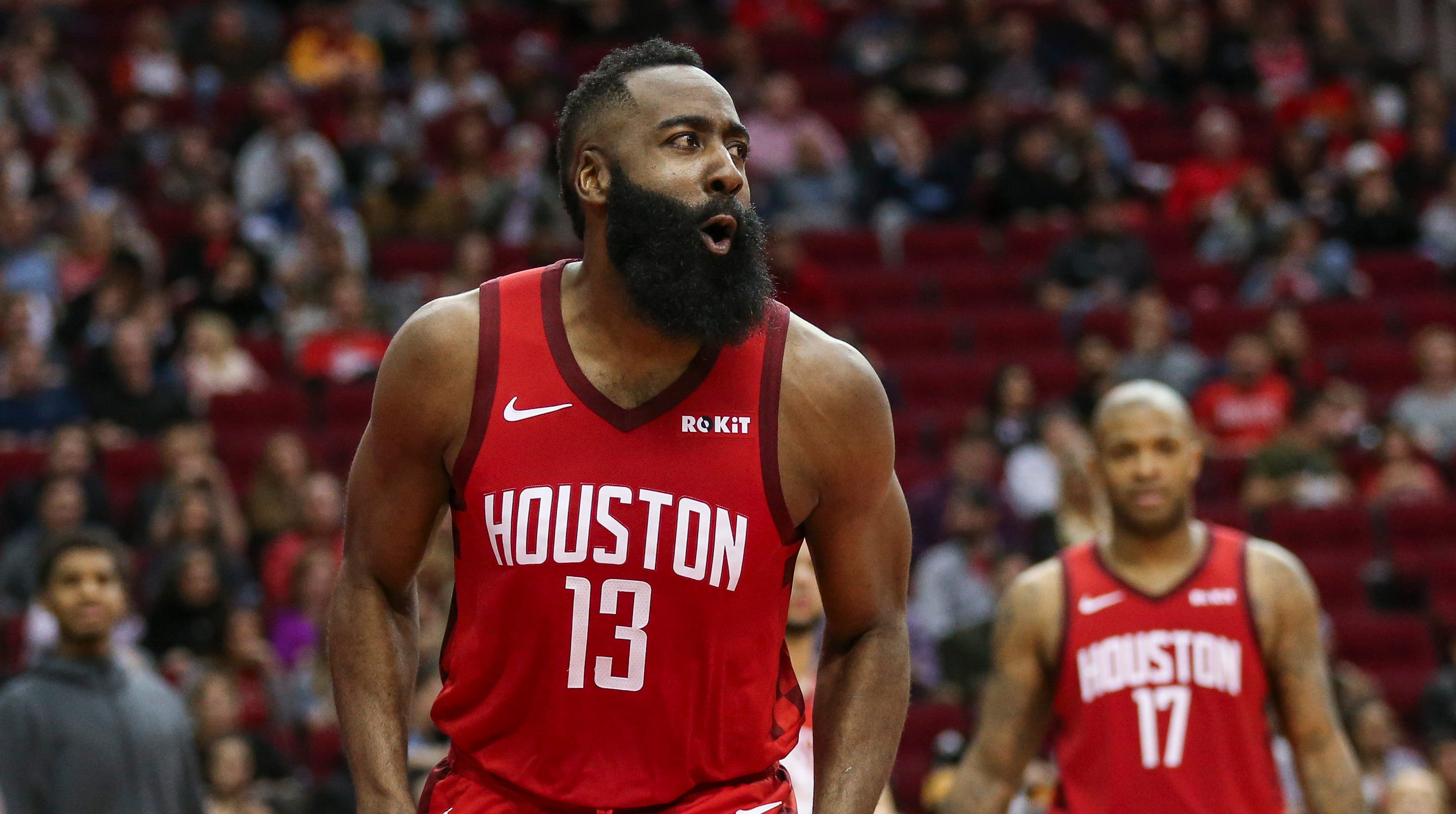 1dd74def876d James Harden breaks obscure Oscar Robertson record in triple-double  performance