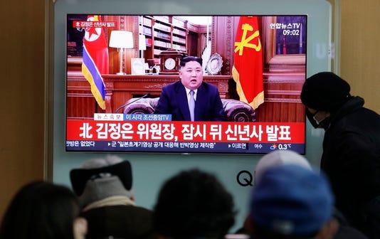 Ap South Korea North Korea New Year Speech I Kor