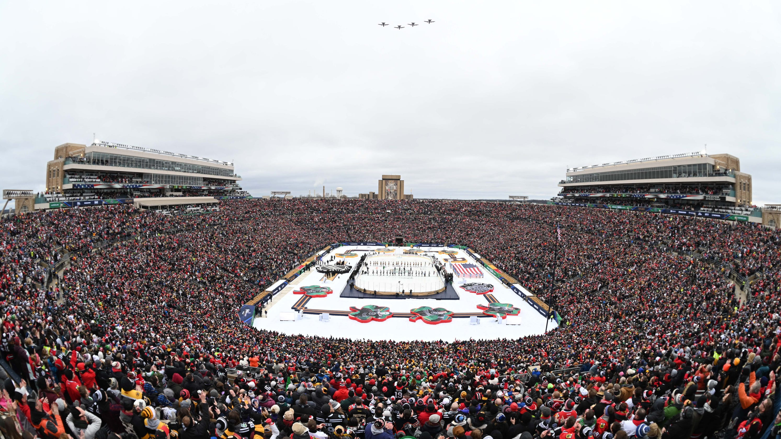 Top Photos From The 2019 Winter Classic