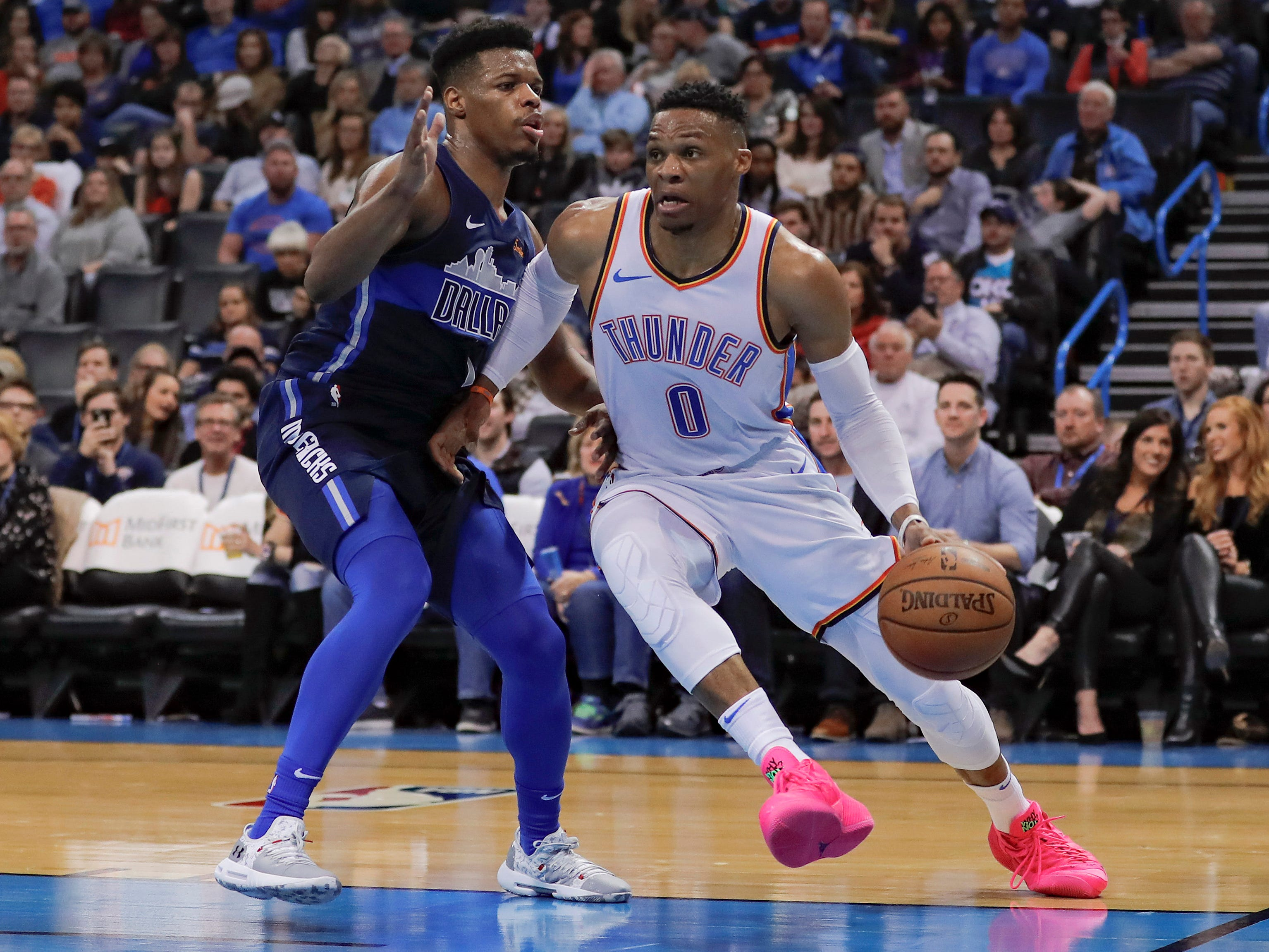 38. Russell Westbrook, Thunder (Dec. 31): 32 points, 11 rebounds, 11 assists in 122-102 win over Mavericks (10th of season).