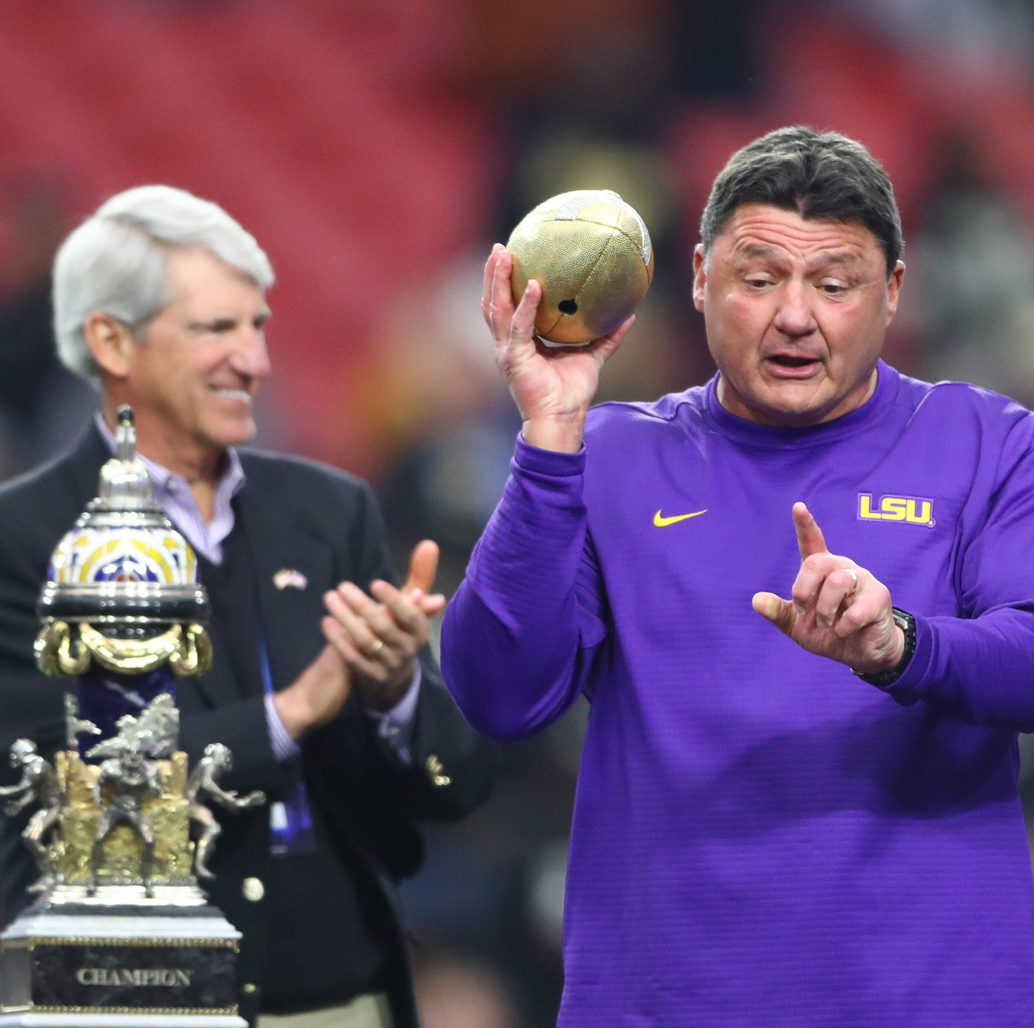 Amid the darkness of LSU Basketball, the Tigers' football quietly opened spring practice