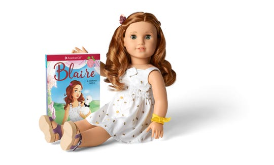 "American Girl's ""BeForever"" and ""Girl Of The Year"" lines have companion books."