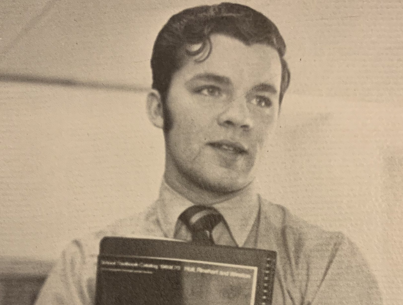 Don Phillips, as pictured in Cheangno Forks High School's 1969-1970 yearbook.