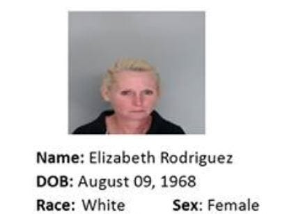 Elizabeth Rodriguez is wanted for motion to revoke: evading arrest. Anyone with information should call Crime Stoppers at 361-888-8477.