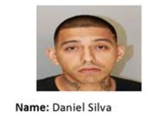 Daniel Silva is wanted for assault. Anyone with information should call Crime Stoppers at 361-888-8477.