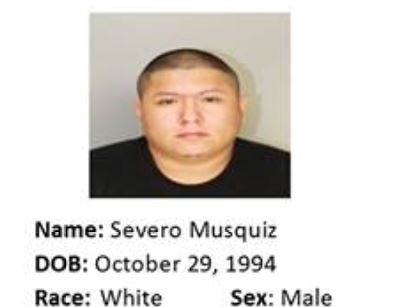Severo Musquiz is wanted for aggravated assault. Anyone with information should call Crime Stoppers at 361-888-8477.