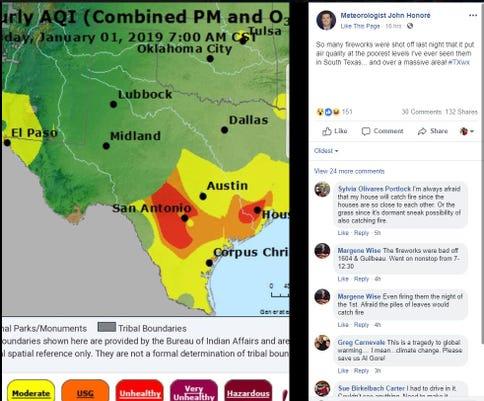 Facebook Ozone Post