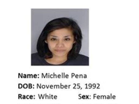 Michelle Pena is wanted for motion to revoke: possession of a controlled substance. Anyone with information should call Crime Stoppers at 361-888-8477.