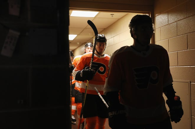 The Flyers return home after a five-game road trip still searching for answers.