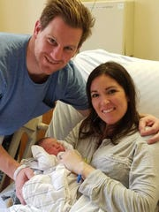 Kevin and Emily DeSmedt of Haddon Township welcomed Susannah on New Year's Day at Our Lady of Lourdes Medical Center.